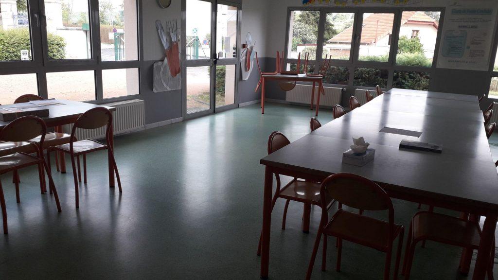 Cantine scolaire commune de La Chapelaude