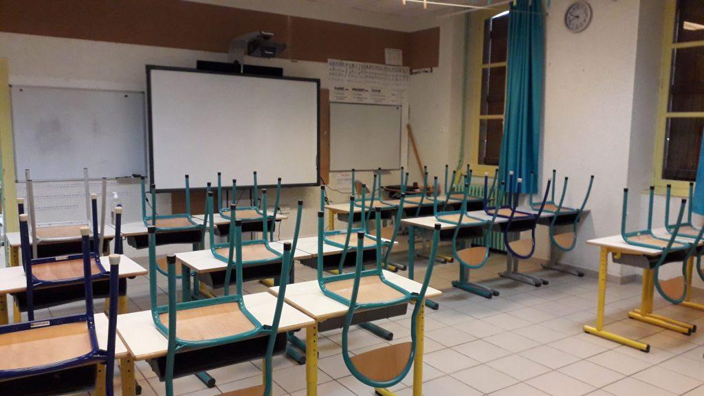 Salle de classes primaires La Chapelaude