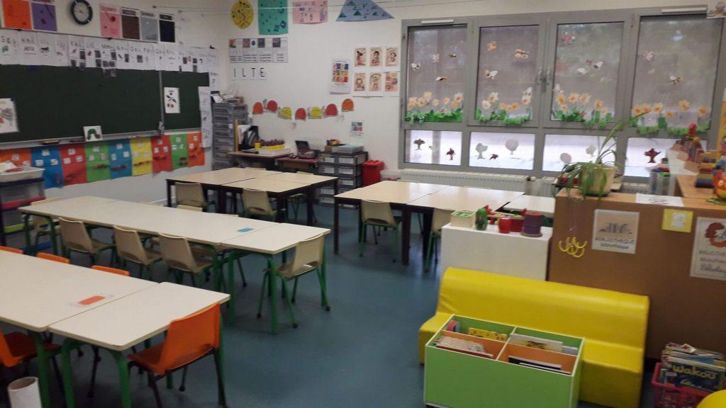 Salles de classes élémentaires La Chapelaude